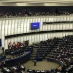 Abstimmung im Europaparlament