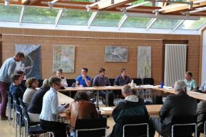 konstituierende Sitzung des 6. Wennigser JuPa